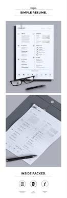 100 resume templates psd word utemplates bro luthfi white an extremely simple resume