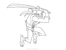 Select from 35450 printable coloring pages of cartoons, animals, nature, bible and many more. Rise Of Teenage Mutant Ninja Turtles Coloring Pages Leonardo With Sword Xcolorings Com