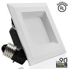 inch led recessed can light conversion  torchstar