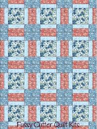 Easy Beginner Baby Quilt Patterns Turquoise Blue Red Flowers ... & Easy Beginner Baby Quilt Patterns Turquoise Blue Red Flowers Floral Fabric  Fast Easy Beginner Pre Cut Adamdwight.com