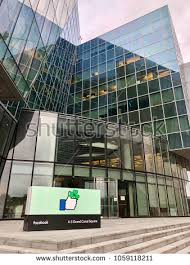facebook office in dublin. DUBLIN - APRIL 1, 2018: Exterior View Of The Facebook Corporate Office In Dublin V