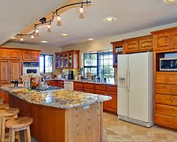 kitchens with track lighting. Unique Kitchen Track Lighting Ideas Kitchens With