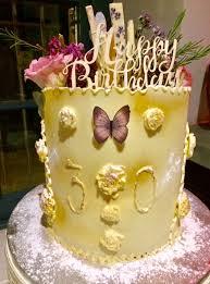 30th Birthday Cake Chocolate Delores Cakes