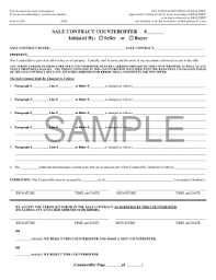 Sales Contract Pdf Forms And Templates - Fillable & Printable ...