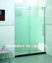 how to cut tempered glass shower doors tempered glass sliding shower door in shower rooms from