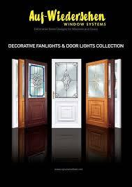 decorative fanlights and doorlights brochure