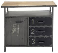 Dexter Cabinet - Industrial - Accent Chests And Cabinets - by Zeckos