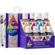 Wilton Color Right Performance Color System Chart Wilton Color Right Performance Color System