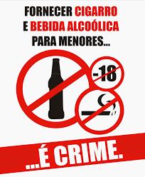 Resultado de imagem para foto de proibido vender bebidas para menores