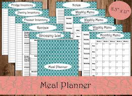 monthly meal planner template monthly menu template 12 free psd eps format download free