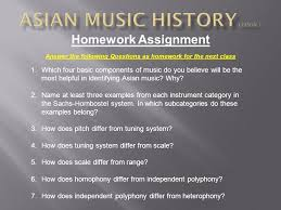 History of asian music