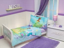... Excellent Decorating Ideas For Toddler And Little Girls Bedroom :  Amusing Princess And Frog Bed Sheet ...
