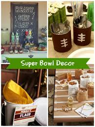 Super Bowl Party Decoration Ideas Easy DIY Super Bowl Party Ideas Creative Juice Football Party 2