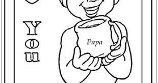 I Love You Papa Coloring Pages Traffic Club