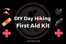 do it yourself day hiking first aid kit