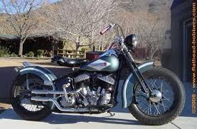 1947 harley ul flathead bobber motorcycle by flat head jedd