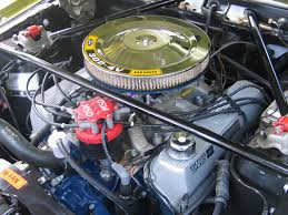 feeler gauge oreillys mustang mach engine was running you can see the bolt that holds the distributor in this photo