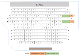 Seating Charts For Lyric Music Theater