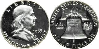 Franklin Half Dollar Value Coin Helpu
