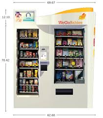 Baby Vending Machine Simple WeGoBabies Vending Machines Baby Essentials On The Go Baby