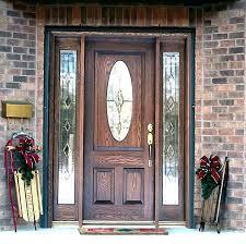 glass panel exterior door front doors with side panels 6 smooth pro fiberglass wen e glass panel exterior door