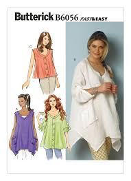 Butterick Plus Size Patterns Impressive B48 Misses' Tent Tops Sewing Pattern Butterick Patterns