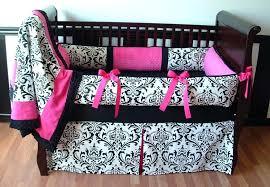 animal print crib bedding sets bedroom design black and white flowers crib blanket design with pink