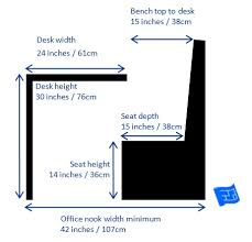 office desk size. small home office design booth dimensions desk size