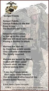 Navy seabees) organizational equipment issued to a marine or seabee by his or her unit that is kept as part of the member's personal (u.s.) nato phonetic alphabet for the letter c. Marine Corps Poems