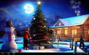 3d Christmas Hd Live Wallpaper