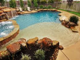 20 Awesome Zero Entry Backyard Swimming Pools ie Beach Entry