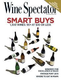 Wine Spectator Vintage Chart 2018 Editors Picks Wine Spectator