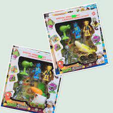 Chỉ 110,000đ - Bộ đồ chơi Plants vs Zombie hoa quả nổi giận