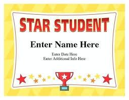 Free Award Certificate Templates For Students Student Certificate Templates Free Certificate Templates Blank