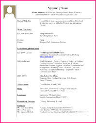 how to write work experience in cv example example of cv work experience by xjew4m