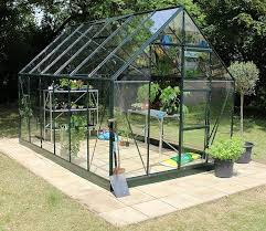halls forest green universal 12ft x 8ft wide greenhouse halls greenhouses for home delivery