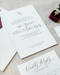 Black And White Invitation Paper Timeless Black And White Wedding Invitations