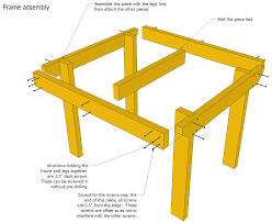 Image Chair Woodgears Patio Table Plans