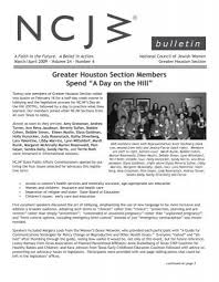 bulletin - National Council of Jewish Women