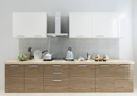 Parallel Kitchen Urban Casa Ucp 105 Parallel Shape Modular Kitchen In Laminate