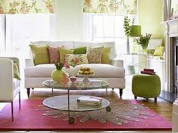 Window Valance Living Room Design Ideas Modern Living Room With Stylish Pink Rug And Rounded