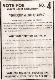 alien land laws and white supremacy 4 which would have repealed washington state s anti alien land law images courtesy of the museum of history and industry and the university of washington