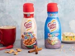 The cinnamon toast crunch creamer is designed to taste like the spicy and sweet milk that the classic cereal leaves behind in your bowl. Coffee Mate Is Launching Cinnamon Toast Crunch And Funfetti Creamers