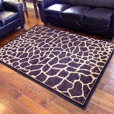 incredible giraffe area rug african adventure giraffe skin design area rug 5 x 7 free