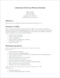 Medical Lab Technician Resume Sample Delectable Certified Medical Technician Resume Chemistry Lab Assistant Resume