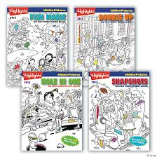 Enjoy these free, printable hidden pictures puzzles for kids! Highlights Hidden Pictures Books 2015 Set Of 4 Discontinued