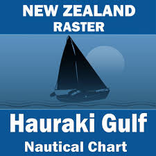 Boat Chart App Hauraki Gulf Auckland Harbour To Great Barrier Island New
