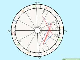 Find Your Natal Chart How To Read An Astrology Chart 10 Steps With Pictures