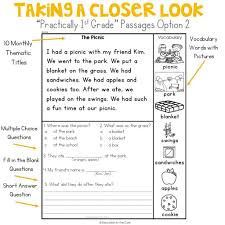 To start practicing, just click on any link. 1st Grade Worksheets Phonics Reading Comprehension Samsfriedchickenanddonuts