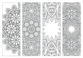 Bookmark Designs To Print Bookmark Coloring Pages Bookmarks To Print And Color